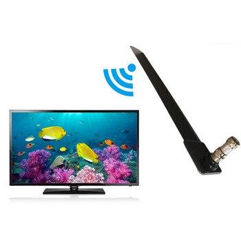 Tamaño compacto con estilo inicio TV HD TV Digital antena interior diseño delgado y elegante casa antena interior de televisión negro