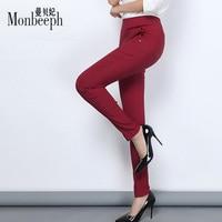 Hot Sale 2016 Women Pants Of The Large Size Women Stretch Pants Fashion Leggings Capris Feet