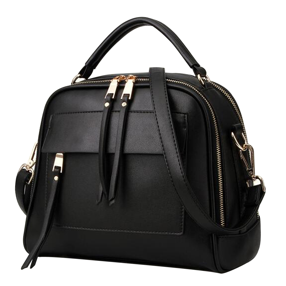 MOJOYCE Luxury Women Leather Handbag Retro Vintage Bag Designer Handbags High Quality Famous Brand Tote Shoulder Ladies Hand Bag cooskin luxury retro vintage bag designer handbags high quality cute women leather famous brand tote shoulder office hand bag