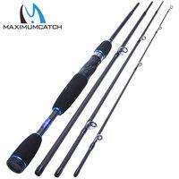 Fishing Baitcasting Rod 2 1M 4Pieces Travel Carbon Fiber Fishing Rod