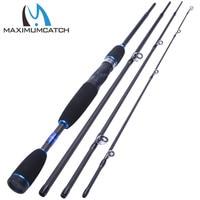 Maximumcatch Fishing Baitcasting Rod 2.1M/2.4M 4Pieces Travel Carbon Fiber Fishing Rod Fast Action Casting Rod