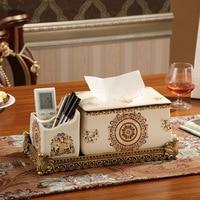 Wholesale creative ceramic box Home Furnishing utility storage carton box decoration crafts