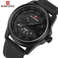 New Luxury Brand NAVIFORCE Men Fashion Casual Watches Men S Quartz Clock Man Leather Strap Army
