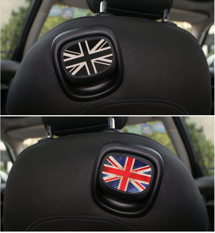 Interior Car Sticker Accessories For Mini Cooper Jcw One F56 F55 Rainbow Union Jack Back Seat In Mouldings From Automobiles Motorcycles On