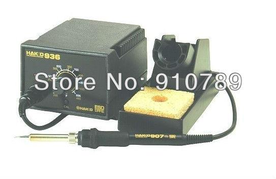 ESD safe 220V HAKKO 936 Soldering Station+907 soldering handle+A1321 heating element HAKKO936 soldering station  цены
