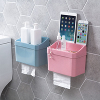 Punch free toilet paper boxes toilet creative towel rack rolls cartons bathroom racks toilet paper boxes Tissue boxes