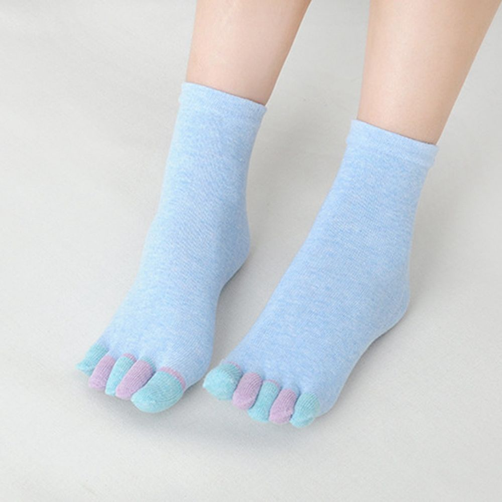 9015bdfc4 Online Shop 1 Pair New Fashion CUte Women Lady Comfy Candy Colored Toe socks  Warm Cotton Five Toe Fingers Socks 6 Colors