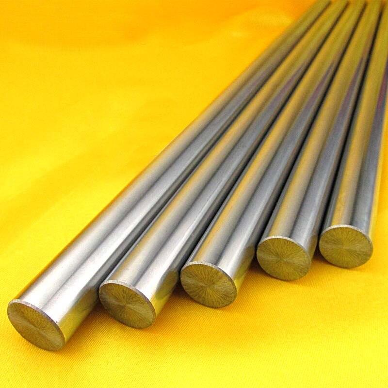 2Pcs 8mm Linear Rod 300mm Chrome Harden Linear Shaft Guide Cnc 3d Printer Parts Free Shipping