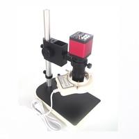 13MP 720P HDMI VGA Industrial digital video Microscope Camera+8X 130X Zoom C mount Lens Glass +56 led light