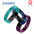 Diggro id115 inteligente pulseira esporte relógio de fitness monitor de atividade rastreador sono pulseira vibrando despertador smartband