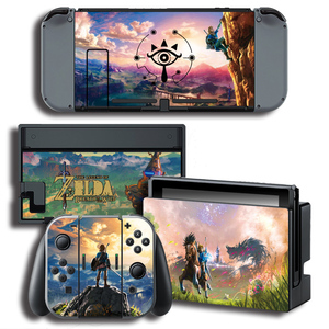 Image 4 - Vinyl Cover Decal Skin Sticker for ghosts skins Stickers for Nintendo Switch NS Console + Controller + Stand Holder Protective F