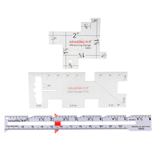 3 шт./компл. Швейные Вязание измерительный прибор квилтер для лоскутное шитье