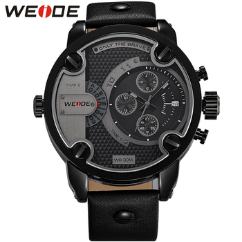 WEIDE Watch Men Quartz Analog Military Relogio Masculino Clock Men relojes Men's watches Top Brand Luxury Waterproof Men Watch top luxury brand sanda men sport watches men s quartz led analog clock man military waterproof wrist watch relogio masculino new