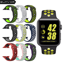 For apple watch nike Silicone Replacement Sport Band 44/40MM Apple Watch Series 42/38MM Wrist Bracelet Strap iWatch