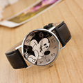 Fashion 5 Colors Mickey Lovely Animation Boy Girl Cartoon Children Clock Wrist Watches relogio Hot Birthday gift for boys FD0165