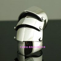 925 стерлингового серебра Вивиан четыре броня кольцо