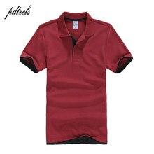 PDTXCLS 2018 hombres Camiseta Polo para hombres Desiger Polos hombres ropa  de algodón camisa de manga 6dbb0b804f56d