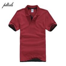 PDTXCLS Mens Polo Shirts Men Desiger Polos Men Cotton Short Sleeve shirt Clothes jerseys Golf Tennis Polos Big Size XXL Solid