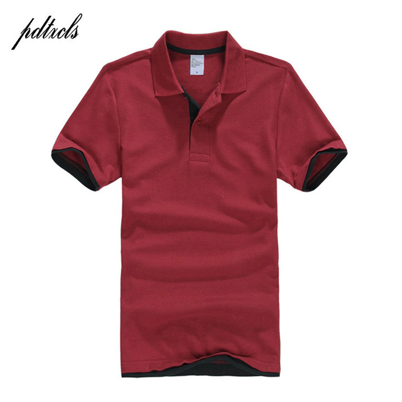 PDTXCLS Mens   Polo   Shirts Men Desiger   Polos   Men Cotton Short Sleeve shirt Clothes jerseys Golf Tennis   Polos   Big Size XXL Solid
