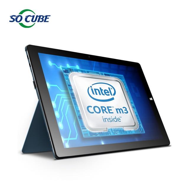 I9 2 en 1 PC de la Tableta de 12.2 pulgadas Cubo Windows10 Casa Skylake Core M3-6Y30 1920*1200 Pantalla IPS 4 GB RAM 128 GB ROM USB 3.1 Tipo C