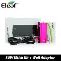 Auténtico Eleaf iStick Mod 30 W Batería 2200 mAh con VV/VW modos de Tensión Ajustable con Soporte de Pantalla OLED Sub Ohm Vape Bobina