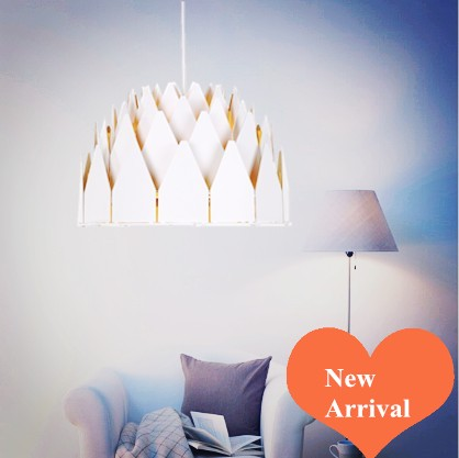2016 creative novelty style black shade Ply-Wood Chandelier E27 LED lamp indoor handmade lamp for porch&corridor&stairs BT260-W