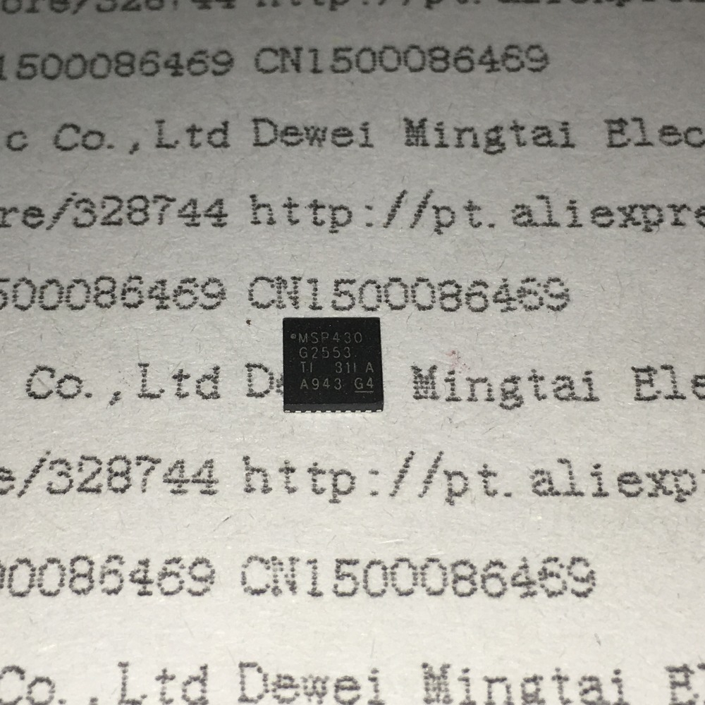 Цена MSP430G2553IRHB32R