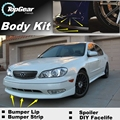 For Infiniti I30 I35 A32 A33 Bumper Lip / Front Spoiler Deflector For TopGear Friends Car Tuning View / Body Kit / Strip Skirt