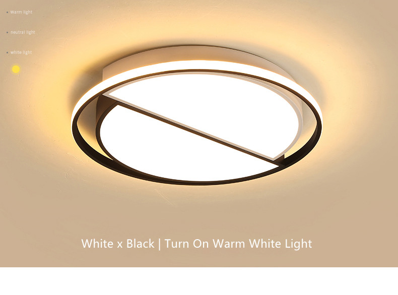 Round Ceiling Chandelier Plafonnier LED Lamp Modern Chandeliers Luminaria 11