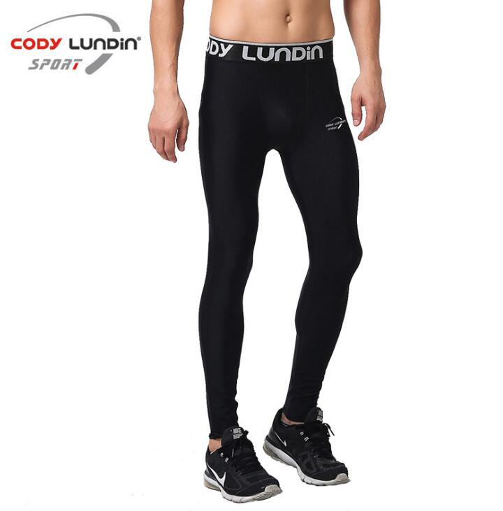 Men Compression Pants Sport Tights Basketball Gym Trousers Bodybuilding Jogging Skinny Leggings Sportswear Exercise Pant