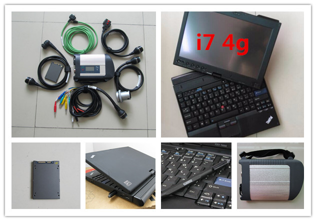 mb star ssd diagnostic system wifi support latest software super ssd 2019.07 with x201t laptop i7 4g touch screen ready to use
