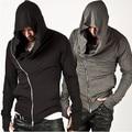 Assassins Creed Men's Hooded Hoodies Male Assassin's Sleeve Streetwear Sweatshirt Hoodies Men US Size XXXL