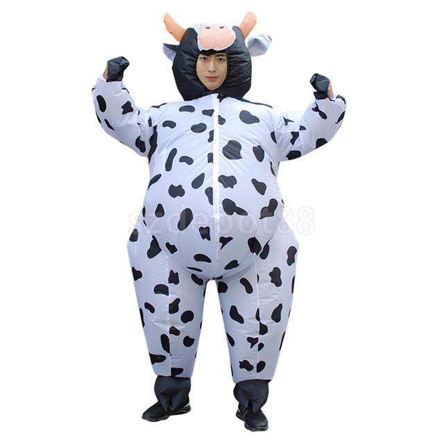 Hot selling Inflatable Costume Air Blow Up Cow Adult Fancy Dress Cosplay Sumo Outfit Halloween Christmas  sc 1 st  AliExpress.com & Hot selling Inflatable Costume Air Blow Up Cow Adult Fancy Dress ...