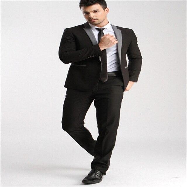 new men suits Unique design a button formal business slim healthy ...