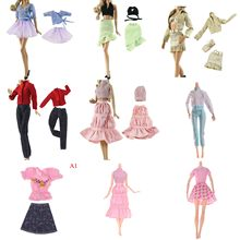 1 Set/Lot Hot Sell Doll Outfits Top Fashion Dress Party Gown Clothes For Doll Baby Toys Best Girls' Gifts Child Toys(China)