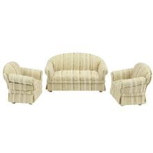 1/12 Масштаб Кукольный домик миниатюрная мебель высококачественный элегантный тканевый диван и стул набор