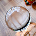 70mm de Cristal Ultra Claro de Acrílico Bola Manipulación Malabares fuuny gadgets Trucos de Magia 1 unids mentalismo juegos de magia para niños juguete