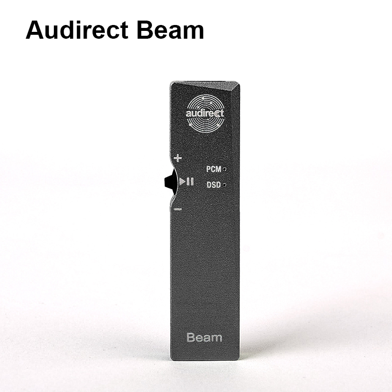 Audirect Beam Portable MINI HiFi USB ES9118 DAC for DSD Earphone Amplifier Supports PCM 32bit/384KHz DSD 256 for iphone TYPE-C musiland 01us mark2 usb hifi external sound card hardware decoding dsd support 32bit 384khz