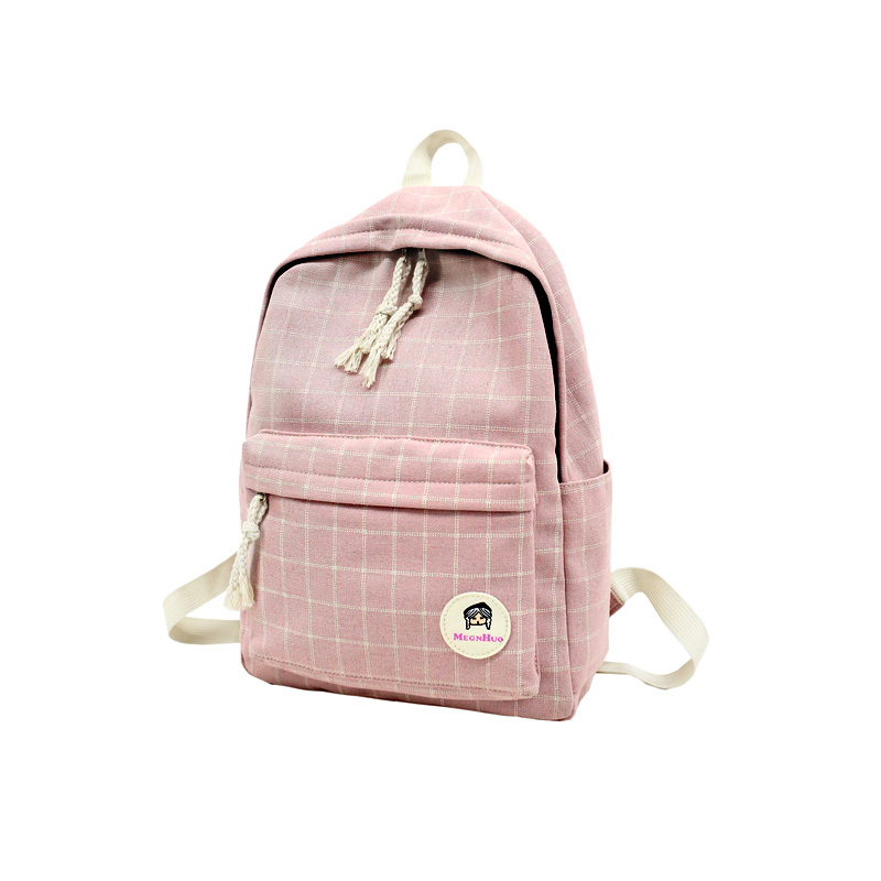 1e7fbf444d21 Detail Feedback Questions about pink back pack cute book bags woman backpack  plaid school bagpacks for women reise rucksack bolsas kawaii torebka plecak  ...