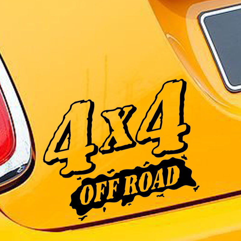 Online get cheap 4x4 car decals aliexpresscom alibaba for Cheap vehicle lettering