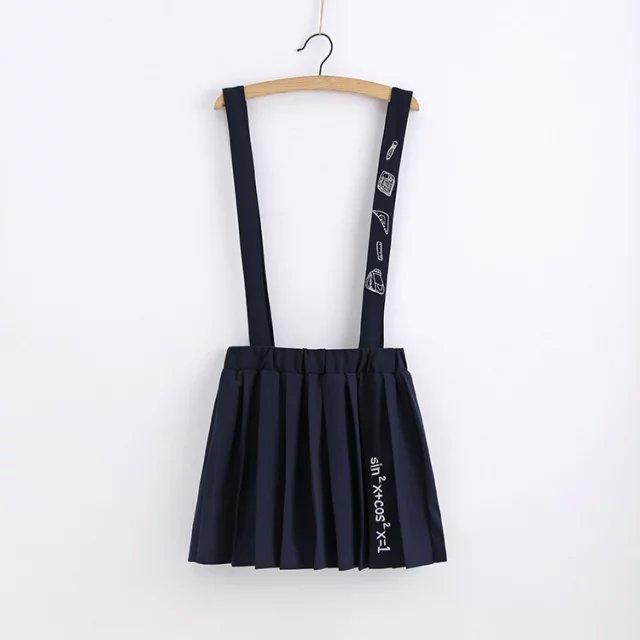 Japanese mori girl jsk jumper skirt fresh braces skirt casual elastic waist skirt 2016 spring girls preppy students short skirt