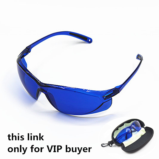 Ipl glasses for ipl beauty operator safety protective e light red laser hoton color light safety