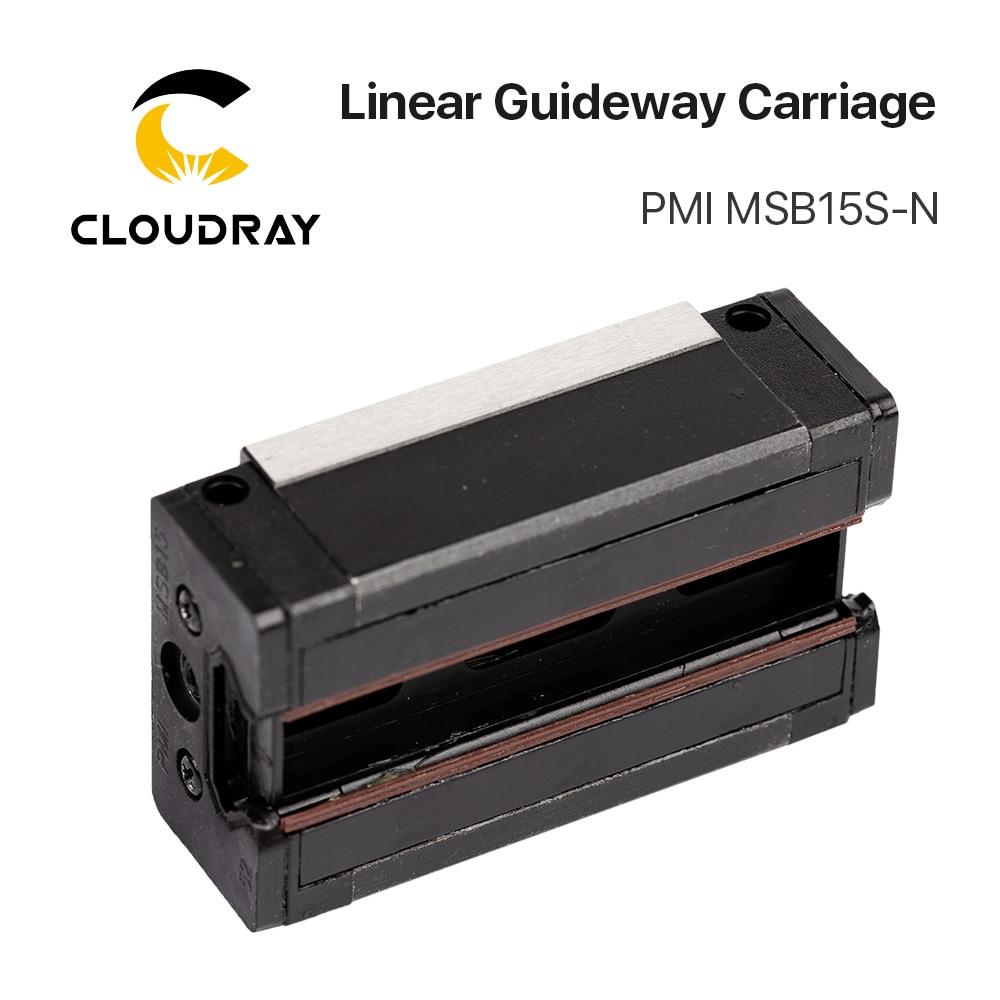 Taiwan PMI Linéaire Guidage Bloc De Transport MSB15S-N pour CO2 Laser Gravure Machine De Découpe - 4