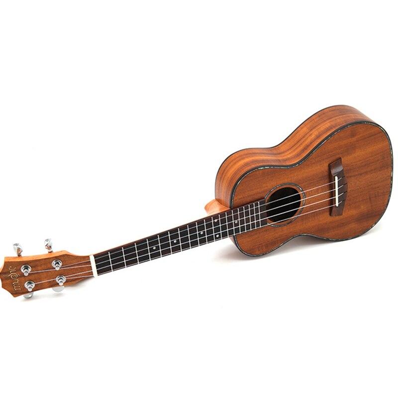 Concert ukulélé 23 acoustique petite guitare 4 cordes KOA doux Acacia Uke palissandre Fretboard électrique Ukelele avec ramassage EQ - 2