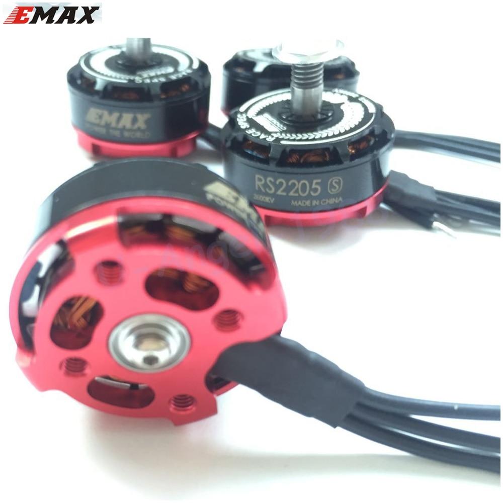 4set/lot Original Emax RS2205S 2300KV 2600KV Brushless Motor For FPV Racing Quad (upgraded version of RS2205) 4 sets lot a2212 1000kv 13t brushless motor