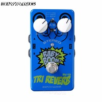 Biyang Tri Reverb Guitar Effect Pedal Stereo Designed Reverb Effects For Electric Guitar With Super Smooth