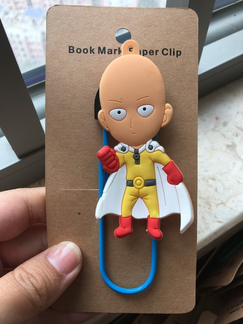 Аниме закладка для книжки Ванпанчмен