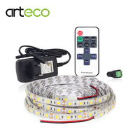 12V LED Strip 5050 5M 300LEDs Single Color RGB Strip Light RF Remote Controller 12V 3A