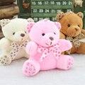 10 cm empate oso de peluche muñeca de peluche de juguete colgante llavero regalos de juguetes de Peluche de Felpa JUGUETE de Regalo de Boda Bouquet Decoración MUÑECA JUGUETE