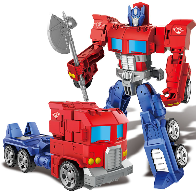 Transformation Plastic Robot Cars Action Figure Toy